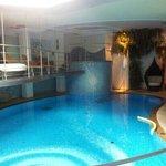 la piscina di acqua rivitallizzante