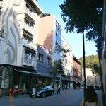 улица на которой находится отель