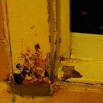 rotten door frame