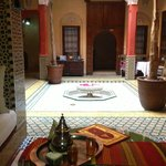Samira Riads - Ground Floor, have tea and breakfast here