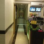 Hotel Corridor, Check-in Counter with CCTV