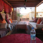 Samira Riads - Rooftop couches for relaxing and dining