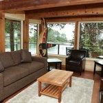 Killer Whale Lodge Living Room