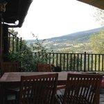 La terraza del restaurante y los desayunos