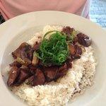 fegatini di pollo con riso
