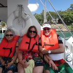 Heading out to Isla Catalina