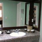 Great sink/vanity area