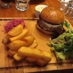 Bistro Burger and Perfect Chips
