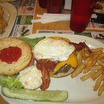 Burgers are awesome - get the EGG