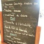menu à 19 € au sépia le 28/08/13
