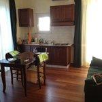 sala + cucina a vista Tiburzi