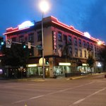 Kalispell Grand in the evening