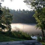 Morning fog on the lake... Beautiful!