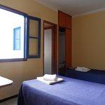 Doppelzimmer mit Dusche u.WC, 140€/Woche für 2Pers