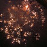 Auch Feuerwerk auf hohen Niveau