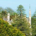 Quinta da Regaleira is visible from our bedroom too ! ! !