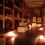 onze wijnkelder...