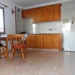 Apartment, Küchenzeile