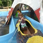 never too young to row your own canoe!