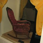Henry Ford Museum Exhibit #2 ( Lincoln's Chair )