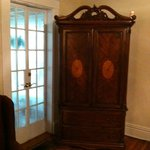 Armoire (contains t.v.)