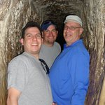 Water Tunnel in the City of David - tight squeeze !