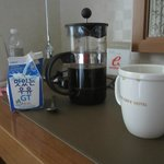 Bring your own French Press and coffee - Hotel coffee is lousy.