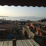 Vista mattutina sul Bosforo
