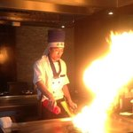 Experience a journey in culinary entertainment as our talented Hibachi chefs prepare your meal!
