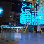 a arena O2 (shopping onde fica a atração)