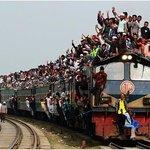 A train in Bangladesh