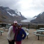 de fondo el glaciar