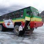 donde nos llevaron hasta el glaciar