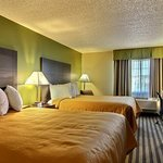 guest rooms with two double beds