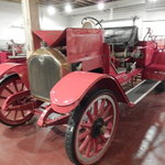 One of the old fire trucks