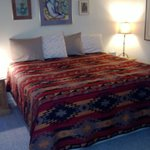 Santa Fe king bed