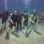 Five Happy Certified Divers with Brian Marzorati