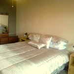 Room 1 with queen bed and ensuite