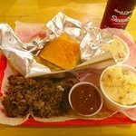 Brisket Meal - Meat, two sides and cornbread or biscuit
