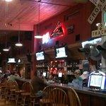 Bar and Bar eating area