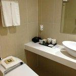 Bathroom Sink and Toiletries