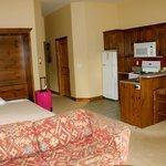 Inside suite 334