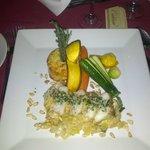 Monk fish dish at Chez Boravige