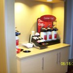 Coffee available in lobby throughout the day