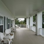 The upstairs veranda on the sea side of the inn.  So relaxing!