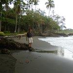 Me at their Beach
