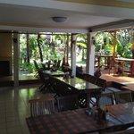 Breakfast area at Hotel Sorga