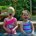 Fun for the kids in the pool