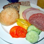 cold Cuts, Vegetables, Cheese, Rolls and Bread