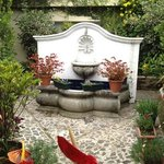 patio/garden area on main floor